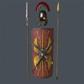 This package contains over 250 assets from the Iron age period including weapons, items, environment, and armor. All assets are PBR compatible and suitable for FPS projects.