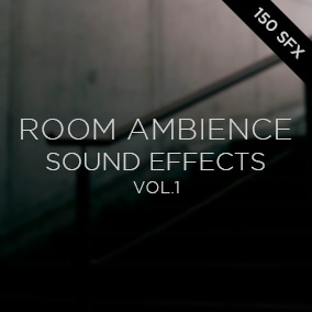 Room Ambience Sound Effects Vol.1 [ 150 Sound Effects ]