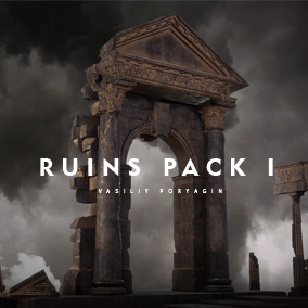 Ruins Pack - Secret place