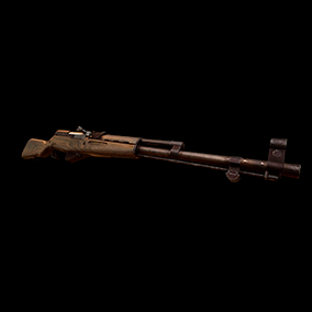 SKS with VFX, 4K textures, animations, and sounds.