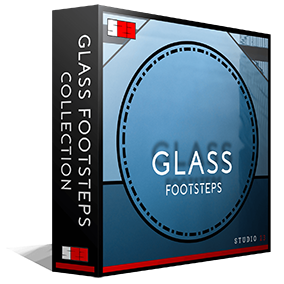 Studio 23's Glass Footsteps Collection is one of the most in depth libraries for footsteps of its type on the market, including 308 high quality .wav files (Approximately 1700 individual sounds).