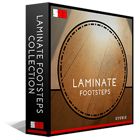 Studio 23's Laminate Footsteps Collection is one of the most in depth libraries for footsteps of its type on the market, including 308 high quality .wav files (Approximately 1700 individual sounds).