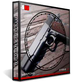 Featuring one of the most recognisable guns in history, Studio 23's M1911 handgun pack consists of 204 individually designed high quality wav files. The M1911 Handgun pack gives complete freedom with every aspect of the gun recorded separately.