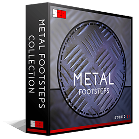 Studio 23's Metal Footsteps Collection is one of the most in depth libraries for footsteps of its type on the market, including 308 high quality .wav files (Approximately 1700 individual sounds).