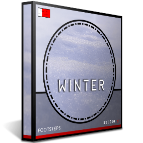 Studio 23's Winter Footsteps Collection is one of the most in depth libraries for footsteps of its type on the market, including 330 high quality .wav files.