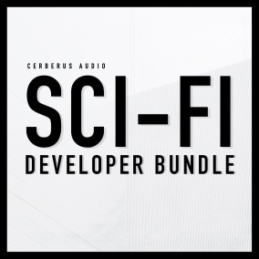 Our SCI-FI Developer bundle brings you three, of our most popular music asset packs for the price of $49.99 Full retail value of $74.97.