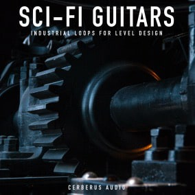 10 NEW seamless Sci-Fi Industrial Guitar Gaming music loops for your Unreal Project Only $19.99