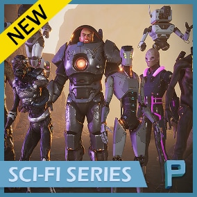 PBR characters with great performance and VR ready!