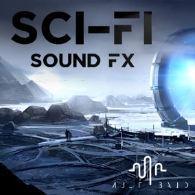 Scifi Sound Bytes for UI use or Game use, Scfi Textures and Moods and Loopable Sounds.
