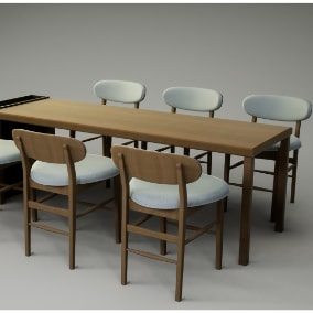 A group of modern tablegroup