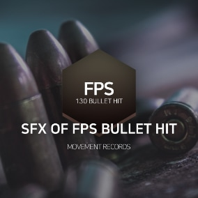 blockbuster sound produced for games, movies, bullet, and hit.