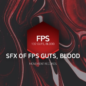 blockbuster sound produced for fps, horror, blood, guts