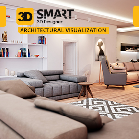 3D Assets Pack with purpose of using in Architecture Visualization