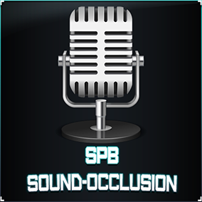 'SPB Sound-Occlusion' is a plugin that generates real-time dynamic collisions for audio sources.