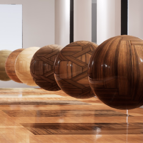 This package contains 23 High resolution WOOD materials.  This materials are ideal for a photorealistic environment.