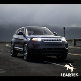 SUV 03 Driveable / Animated / Realistic