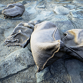 Realistically rendered military sandbags based on photoscanned data. Commonly used in the construction of military defense barricades and defenses. Designed to supplement the sandbag walls package, but can be used standalone.