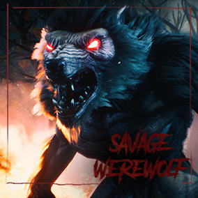 Here is a savage werewolf inspired by horror movies and video games. It was made for productions which want create an action horror games with a very good quality model.