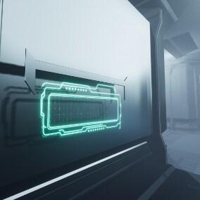 sci-fi Screen Material Pack 2k Vector art