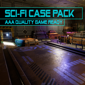 Sci-Fi Case Pack - AAA Quality