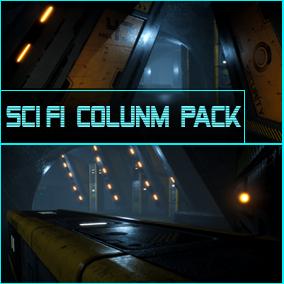 Sci-Fi Column Modular Pack
