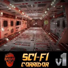 Sci-Fi Corridor Btm v1