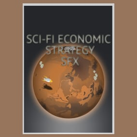 Sci-Fi Economic Strategy SFX contains 1636 sounds: 818 mono and 818 stereo sounds
