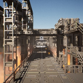 A modular pack designed to create a AAA quality industrial environment. Especially suited for the first-person, third-person and top-down games.