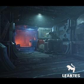 Sci-Fi / Futuristic Corridor