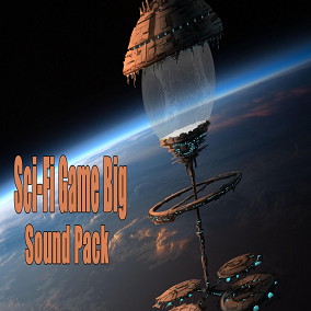 Sci-Fi Game Big Sound Pack 728 sounds