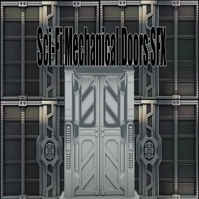 Sci-Fi Mechanical Doors SFX consists of 50 sounds