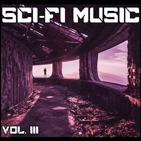 The Sci-Fi Music Vol. III pack focuses on mysterious, cinematic and immersive hybrid music that features an unique blend of orchestral, digital and analog instruments.