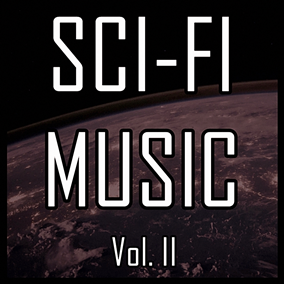 The Sci-Fi Music Vol. II pack focuses on atmospheric electronic music, perfect for immersive science-fiction games.