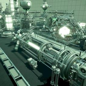 Sci Fi Modular Reactors with VFX & SFX
