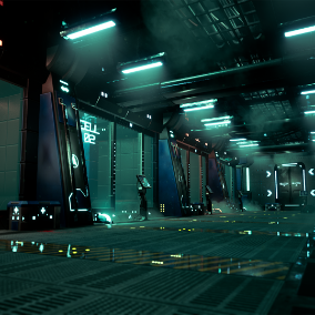 Make your own fantastic sci fi scenes !!! With these props you can make the corridors you want very easily thanks to the modular props. Just drag the prop you want and you will have your ideal horror scene in a few moments.