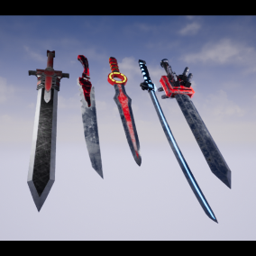 A scifiction  Swords pack