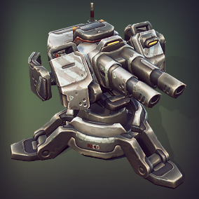 Part of Mech Constructor series. Over 70 different modules, that will allow you to assemble numerous combinations of turrets and towers.