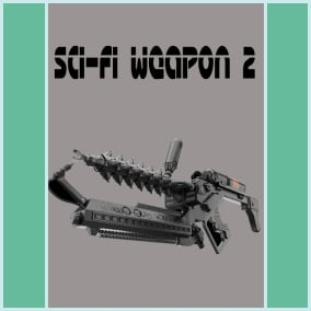Sci-Fi Weapon 2 contains 100 sounds of futuristic weapons