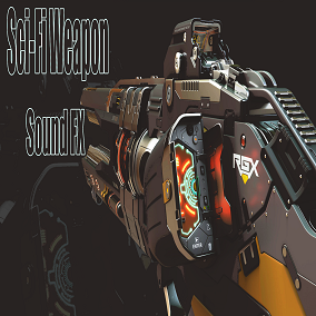 Sci-Fi Weapon Sound FX consists of 231 sounds