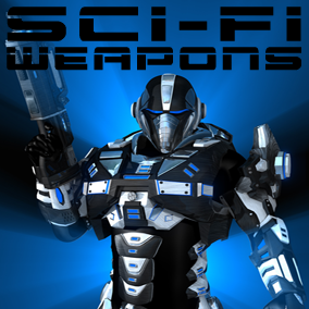 400+ cutting edge, hi-tech, futuristic weapon sound effects!