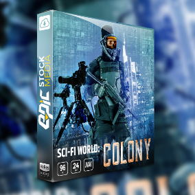 "Create the perfect room tone and sound environment for your next sci-fi game, film, and audio productions. Sci-fi World: Colony is an ambience loop library inspired by the human race of award-winning game ""Starcraft""."