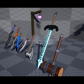 A Fantasy weapon pack