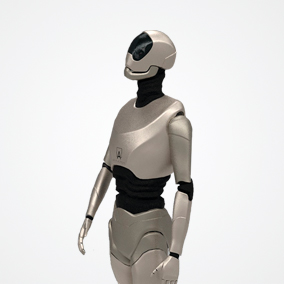 Great sci-fi robot BH-2 character optimized for game projects and suitable for prototyping.