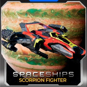 This fully playable Space Fighter includes lasers, shields, asteroids, turrets, destruction FX, a space environment and more!