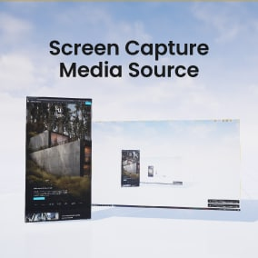 Use a live screen capture as a media source