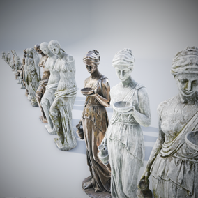 Pack contains 14 models of statues that exist in reality. Each statue has 3 variations of materials in 4K resolution. Models have LODs.