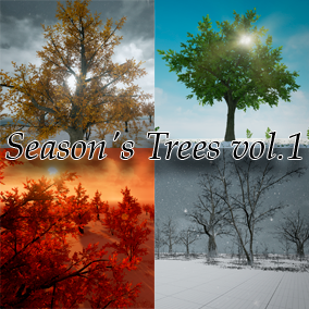 All seasons trees pack