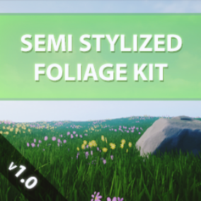 A small semi stylistic foliage kit for your scene.
