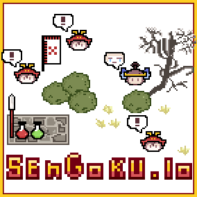 Sengoku.io is a complete multiplay .io style game. Simple and easy to learn game-template.