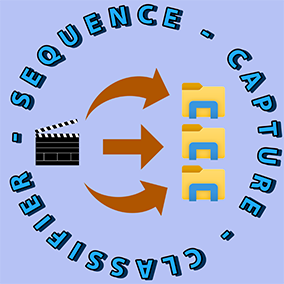 This plugin can help you classify the images from the capture of your sequencer into cinema shot folders
